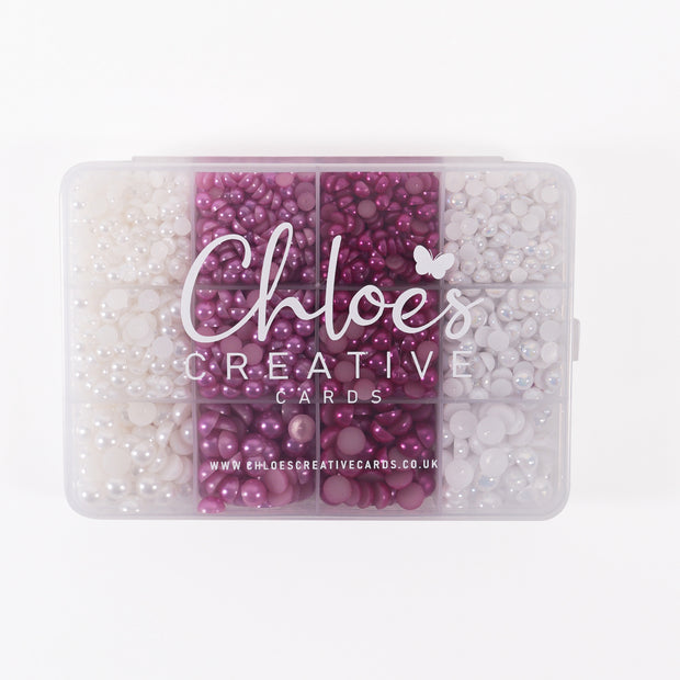 MULTIBUY - Chloes Creative Cards Chloes Favourites Bling and Pearl Boxes