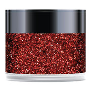 Red Poinsettia Sparkelicious Glitter 1/2oz Jar