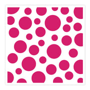Chloes Creative Cards Stencil (8 x 8) - Sparkling Spots & Dots