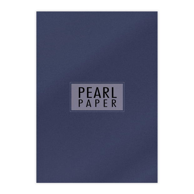 Chloes Luxury Pearl Card 10 Sheets Lapis Lazuli