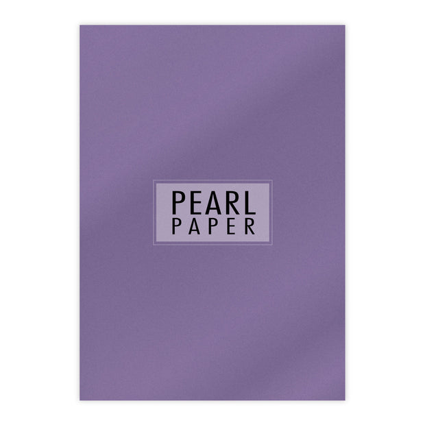 Chloes Luxury Pearl Paper 10 Sheets Amethyst