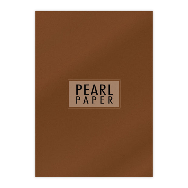Chloes Luxury Pearl Paper 10 Sheets Bronze