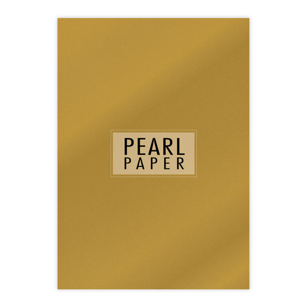 Chloes Luxury Pearl Paper 10 Sheets Fine Gold