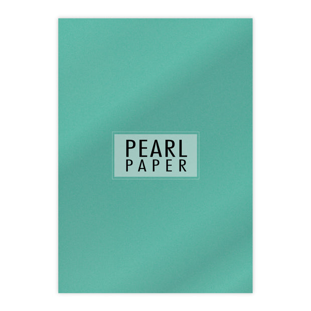 Chloes Luxury Pearl Paper 10 Sheets Lagoon