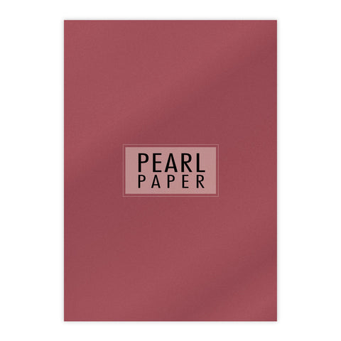 Chloes Luxury Pearl Paper 10 Sheets Mars