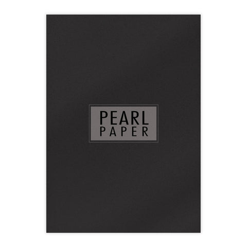 Chloes Luxury Pearl Paper 10 Sheets Onyx