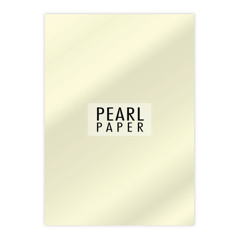 Chloes Luxury Pearl Paper 10 Sheets Opal