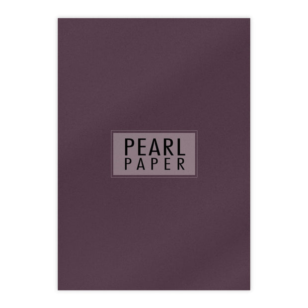 Chloes Luxury Pearl Paper 10 Sheets Ruby