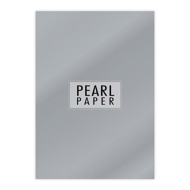 Chloes Luxury Pearl Paper 10 Sheets Silver