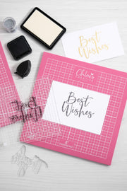 "Chloes Creative Cards Oversized 8""x8"" Foam Stamping Mat"