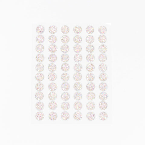 Craft Buddy Self Adhesive A/B Sparkle Bubble Gems Lilac