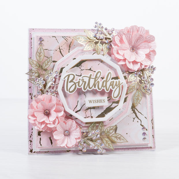 Chloes Creative Cards Posy Flower 5x7 Cut & Emboss Folder