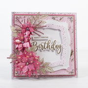 Chloes Creative Cards Meadow Flower 5x7 Cut & Emboss Folder