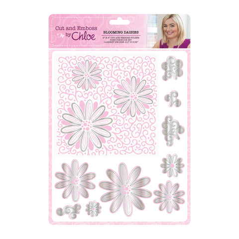 Cut and Emboss by Chloe Folder & Dies Blooming Daisies
