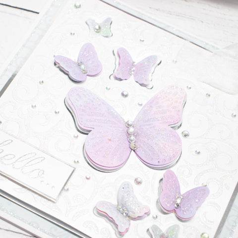 Cut and Emboss by Chloe Folder & Dies Butterfly Trails