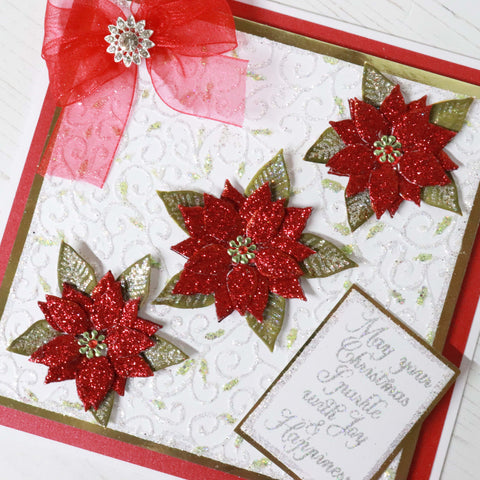Cut and Emboss by Chloe Folder & Dies Pretty Poinsettias