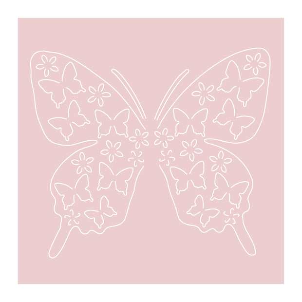 Dies by Chloe Butterfly of Butterflies Metal Cutting Die
