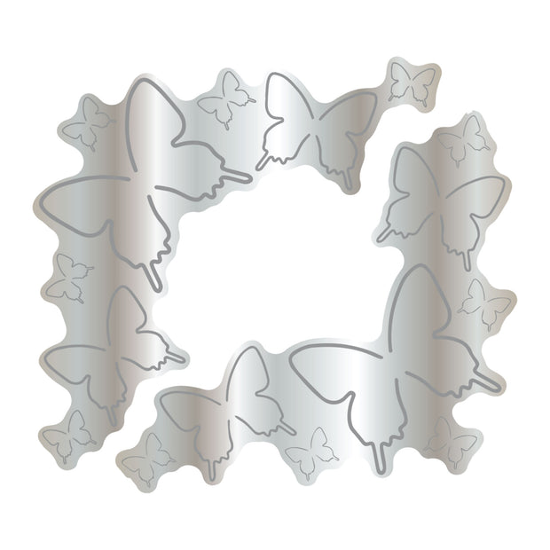 Dies by Chloe Butterfly Corners Metal Cutting Die