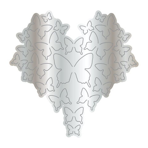 Dies by Chloe Butterfly Heart Metal Cutting Die
