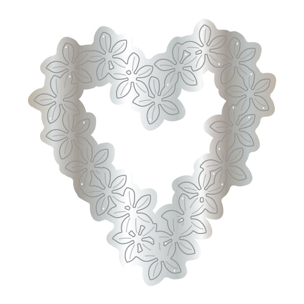 Dies by Chloe Flower Heart Metal Cutting Die