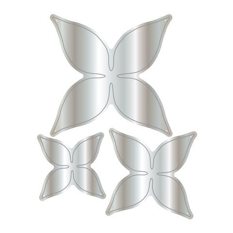 Dies by Chloe Four Petal Flower Metal Cutting Die