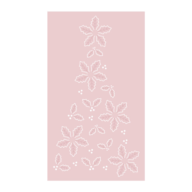 Dies by Chloe Holly Flower Tree Metal Cutting Die