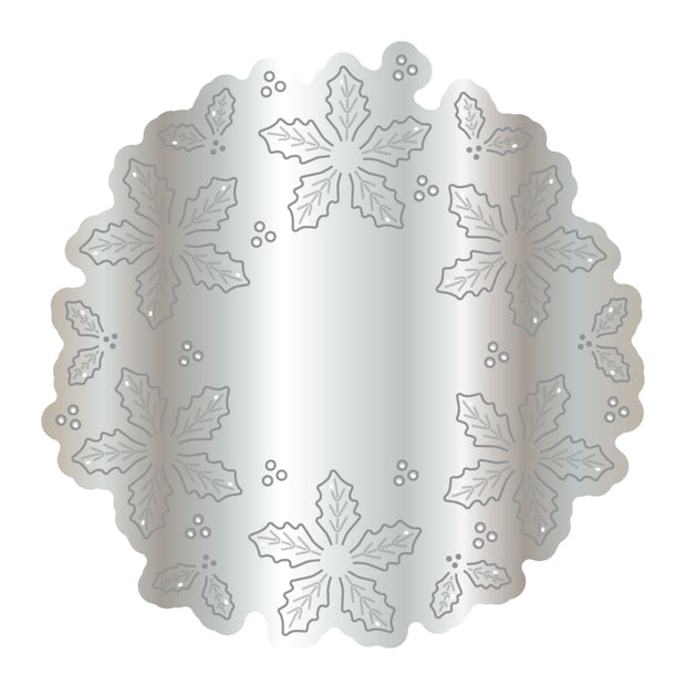 Dies by Chloe Holly Flower Wreath Metal Cutting Die