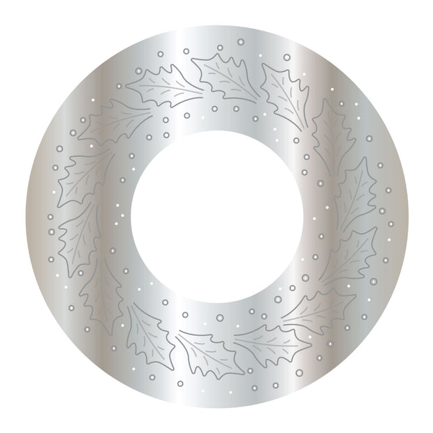 Dies by Chloe Holly Wreath Metal Cutting Die