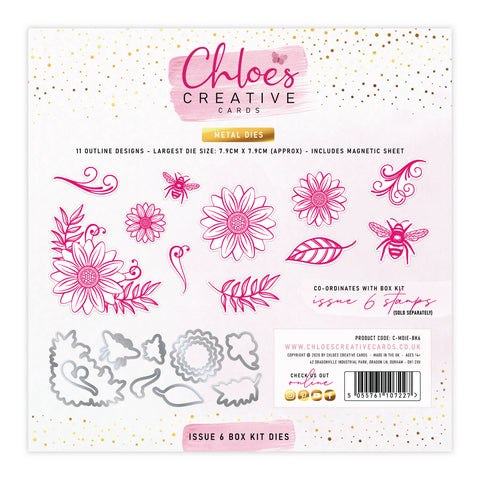 Dies by Chloe Issue 6 Box Kit Metal Cutting Dies