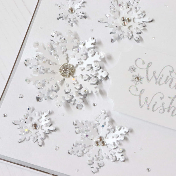 Dies by Chloe Large Snowflakes Metal Cutting Die