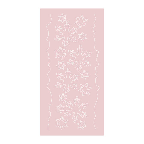 Dies by Chloe Snowflake Border Metal Cutting Die