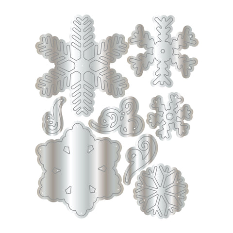 Dies by Chloe Snowflake Swirls Die Set