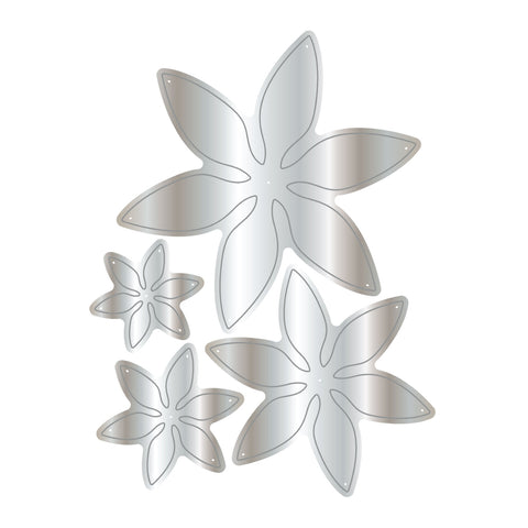 Dies by Chloe Wild Flower Metal Cutting Die