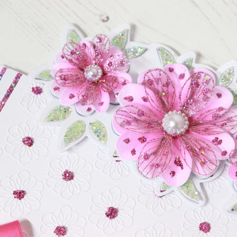 Embossing Folder by Chloe 6 x 6 Floral Fantasy