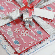 Papers by Chloe - 6x6 Luxury Foiled Acetate Christmas Sheets
