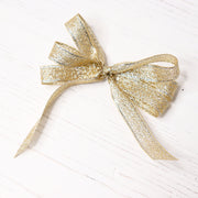 Chloes Creative Cards Luxe Ribbon (8m) Glittering Gold