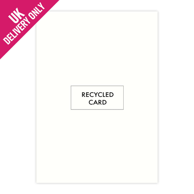Craft UK A4 White Recycled Card