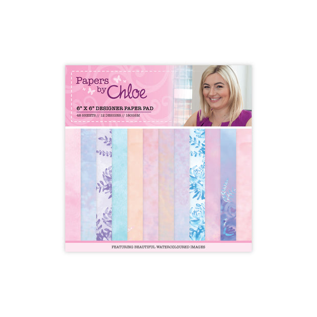Papers by Chloe 6x6 Designer Paper Pad