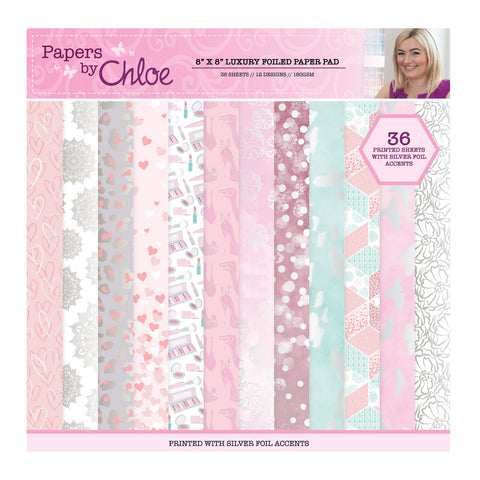 Papers by Chloe Fashion 8x8 Luxury Foiled Paper Pad