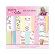 Papers by Chloe 8x8 Luxury Paper Pad Springtime Florals