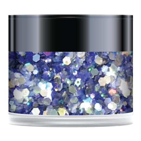 Stamps by Chloe Blueberry Sorbet Sparkelicious Glitter 1/2oz Jar
