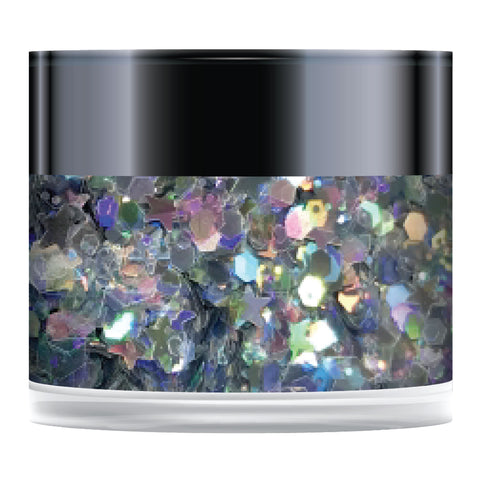 Stamps by Chloe Ice Maiden Sparkelicious Glitter 1/2oz Jar