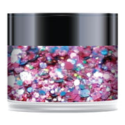 Stamps by Chloe Raspberry Ripple Sparkelicious Glitter 1/2oz Jar