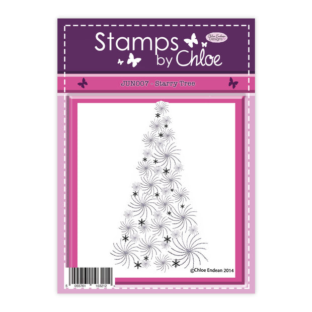 Stamps by Chloe Starry Tree Clear Stamp