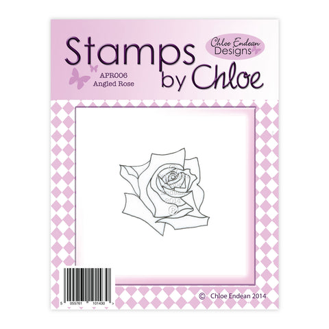 Stamps by Chloe Angled Rose Clear Stamp
