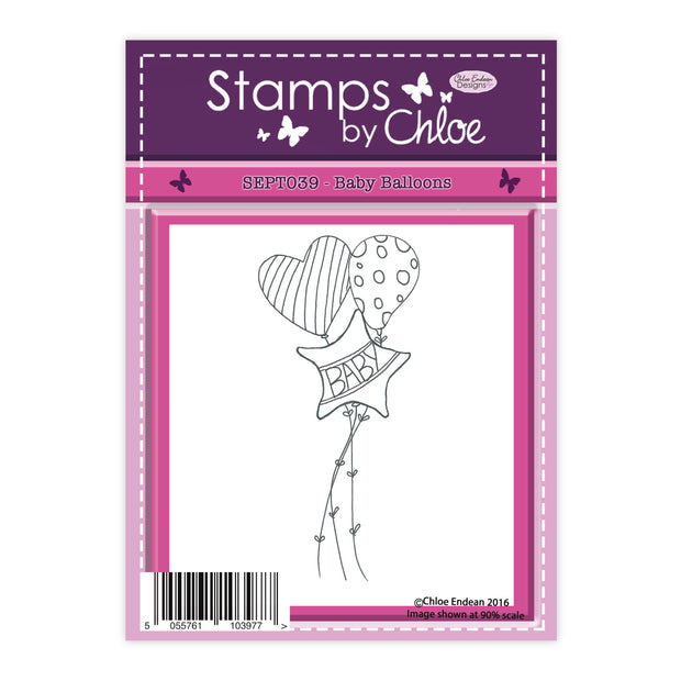 Stamps by Chloe Baby Balloons Clear Stamp
