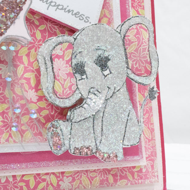 Stamps by Chloe Baby Elephant Clear Stamp