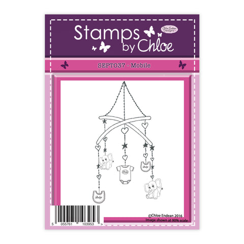 Stamps by Chloe Baby Mobile Clear Stamp