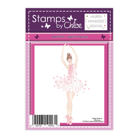 Stamps by Chloe Ballet Dancer Clear Stamp