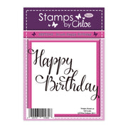 Stamps by Chloe Brush Happy Birthday Clear Stamp